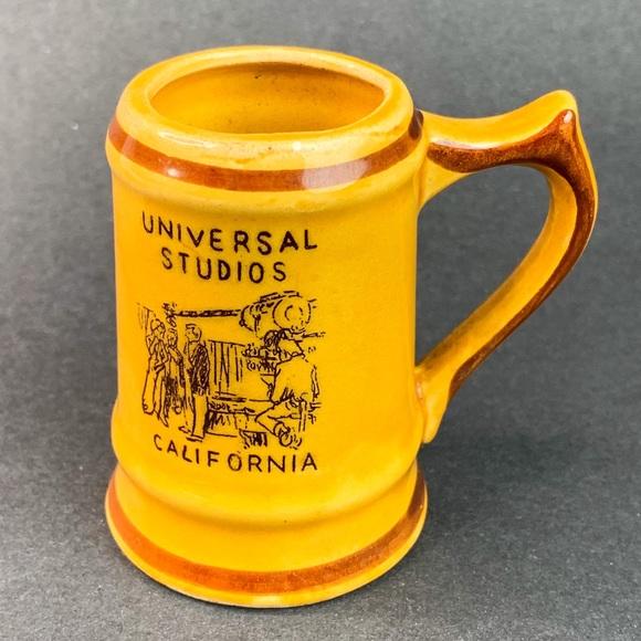 Vtg Universal Studios California Shot Mug Japan